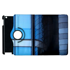 Modern Office Window Architecture Detail Apple Ipad 2 Flip 360 Case by Simbadda