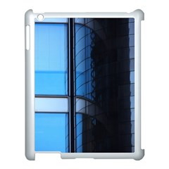 Modern Office Window Architecture Detail Apple Ipad 3/4 Case (white) by Simbadda
