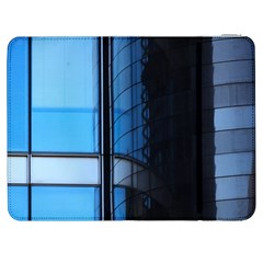 Modern Office Window Architecture Detail Samsung Galaxy Tab 7  P1000 Flip Case by Simbadda