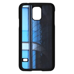 Modern Office Window Architecture Detail Samsung Galaxy S5 Case (black) by Simbadda
