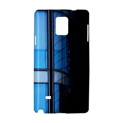 Modern Office Window Architecture Detail Samsung Galaxy Note 4 Hardshell Case by Simbadda