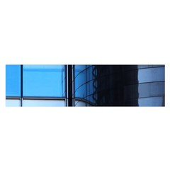 Modern Office Window Architecture Detail Satin Scarf (oblong)