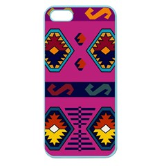 Abstract A Colorful Modern Illustration Apple Seamless Iphone 5 Case (color) by Simbadda