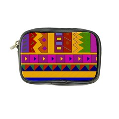 Abstract A Colorful Modern Illustration Coin Purse by Simbadda