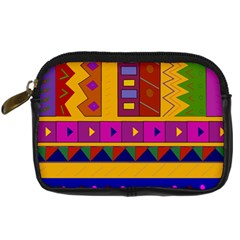 Abstract A Colorful Modern Illustration Digital Camera Cases