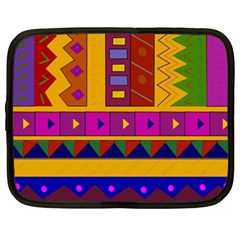 Abstract A Colorful Modern Illustration Netbook Case (xxl)
