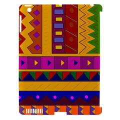 Abstract A Colorful Modern Illustration Apple Ipad 3/4 Hardshell Case (compatible With Smart Cover) by Simbadda