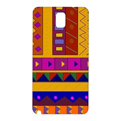 Abstract A Colorful Modern Illustration Samsung Galaxy Note 3 N9005 Hardshell Back Case by Simbadda