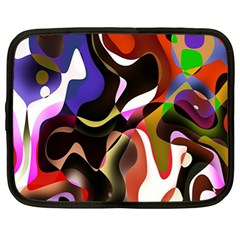 Colourful Abstract Background Design Netbook Case (xl)  by Simbadda