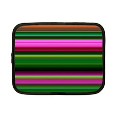 Multi Colored Stripes Background Wallpaper Netbook Case (small)
