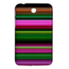 Multi Colored Stripes Background Wallpaper Samsung Galaxy Tab 3 (7 ) P3200 Hardshell Case  by Simbadda