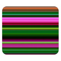 Multi Colored Stripes Background Wallpaper Double Sided Flano Blanket (small)  by Simbadda