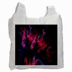 Abstract Fractal Background Wallpaper Recycle Bag (one Side)