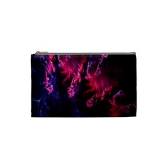 Abstract Fractal Background Wallpaper Cosmetic Bag (small)  by Simbadda