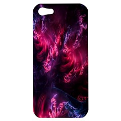 Abstract Fractal Background Wallpaper Apple Iphone 5 Hardshell Case
