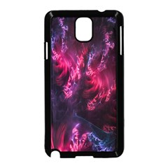 Abstract Fractal Background Wallpaper Samsung Galaxy Note 3 Neo Hardshell Case (black)