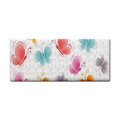 Butterfly Pattern Vector Art Wallpaper Cosmetic Storage Cases by Simbadda
