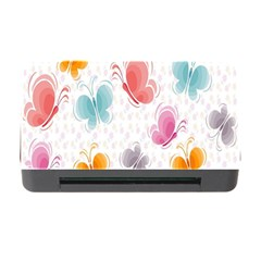 Butterfly Pattern Vector Art Wallpaper Memory Card Reader With Cf by Simbadda