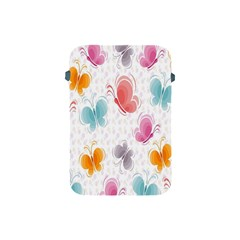 Butterfly Pattern Vector Art Wallpaper Apple Ipad Mini Protective Soft Cases by Simbadda