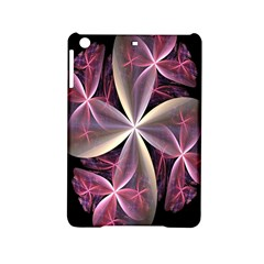 Pink And Cream Fractal Image Of Flower With Kisses Ipad Mini 2 Hardshell Cases