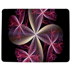 Pink And Cream Fractal Image Of Flower With Kisses Jigsaw Puzzle Photo Stand (rectangular)
