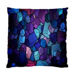 Cubes Vector Art Background Standard Cushion Case (two Sides)