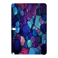 Cubes Vector Art Background Samsung Galaxy Tab Pro 10 1 Hardshell Case by Simbadda