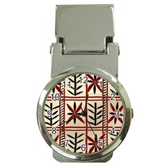 Abstract A Colorful Modern Illustration Pattern Money Clip Watches by Simbadda