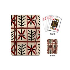 Abstract A Colorful Modern Illustration Pattern Playing Cards (mini)  by Simbadda