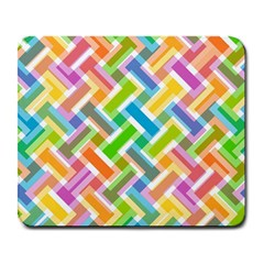 Abstract Pattern Colorful Wallpaper Background Large Mousepads