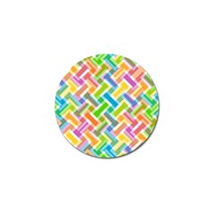 Abstract Pattern Colorful Wallpaper Background Golf Ball Marker (4 Pack) by Simbadda