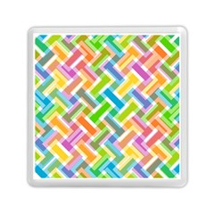 Abstract Pattern Colorful Wallpaper Background Memory Card Reader (square)