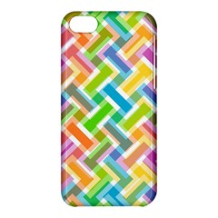 Abstract Pattern Colorful Wallpaper Background Apple Iphone 5c Hardshell Case by Simbadda