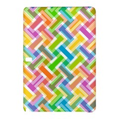 Abstract Pattern Colorful Wallpaper Background Samsung Galaxy Tab Pro 10 1 Hardshell Case by Simbadda