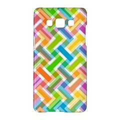 Abstract Pattern Colorful Wallpaper Background Samsung Galaxy A5 Hardshell Case  by Simbadda