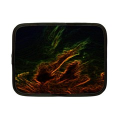 Abstract Glowing Edges Netbook Case (small)