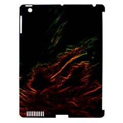 Abstract Glowing Edges Apple Ipad 3/4 Hardshell Case (compatible With Smart Cover) by Simbadda