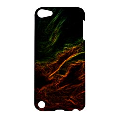 Abstract Glowing Edges Apple Ipod Touch 5 Hardshell Case by Simbadda