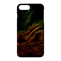Abstract Glowing Edges Apple Iphone 7 Plus Hardshell Case