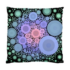 An Abstract Background Consisting Of Pastel Colored Circle Standard Cushion Case (two Sides) by Simbadda