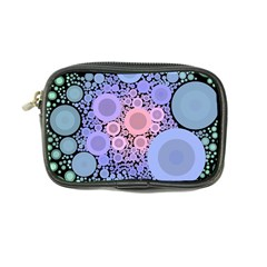 An Abstract Background Consisting Of Pastel Colored Circle Coin Purse by Simbadda