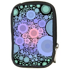 An Abstract Background Consisting Of Pastel Colored Circle Compact Camera Cases by Simbadda