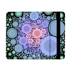 An Abstract Background Consisting Of Pastel Colored Circle Samsung Galaxy Tab Pro 8 4  Flip Case by Simbadda