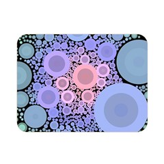 An Abstract Background Consisting Of Pastel Colored Circle Double Sided Flano Blanket (mini)  by Simbadda