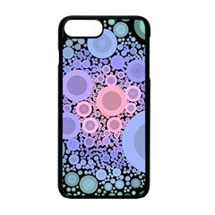 An Abstract Background Consisting Of Pastel Colored Circle Apple Iphone 7 Plus Seamless Case (black) by Simbadda