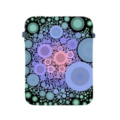 An Abstract Background Consisting Of Pastel Colored Circle Apple Ipad 2/3/4 Protective Soft Cases by Simbadda