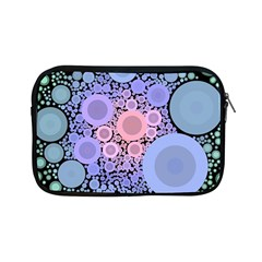 An Abstract Background Consisting Of Pastel Colored Circle Apple Ipad Mini Zipper Cases by Simbadda