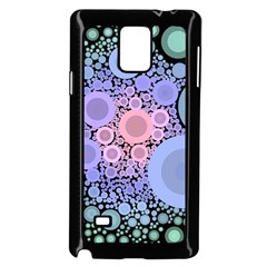 An Abstract Background Consisting Of Pastel Colored Circle Samsung Galaxy Note 4 Case (black) by Simbadda
