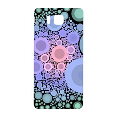 An Abstract Background Consisting Of Pastel Colored Circle Samsung Galaxy Alpha Hardshell Back Case by Simbadda