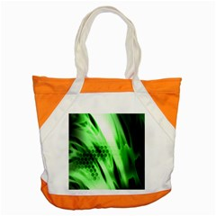 Abstract Background Green Accent Tote Bag by Simbadda
